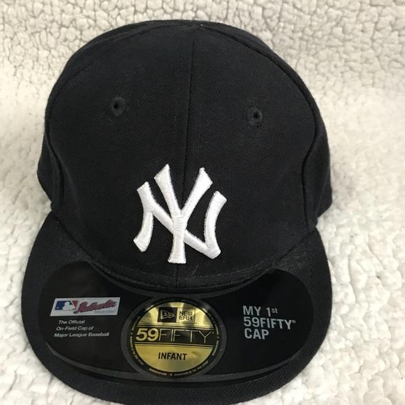 clearance new era mlb league basic new york yankees 59fifty cap a4378  f9b5f  discount brand new infant yankee fitted cap dcfcb abc8c a716ef5cc21